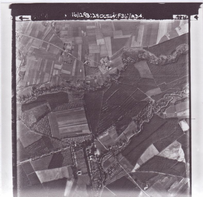 British aerial photo October the 28th 1944