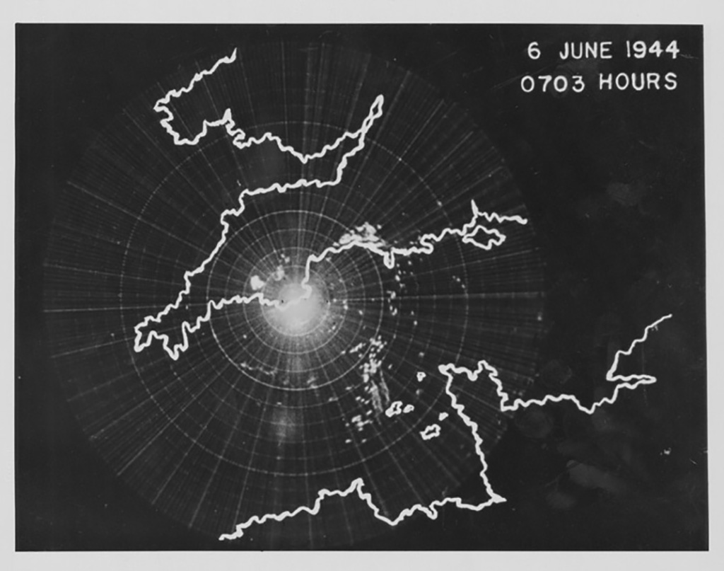 Radar Image of D-Day