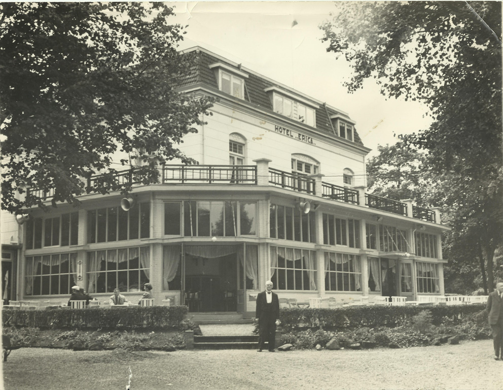 Hotel Erica after the war