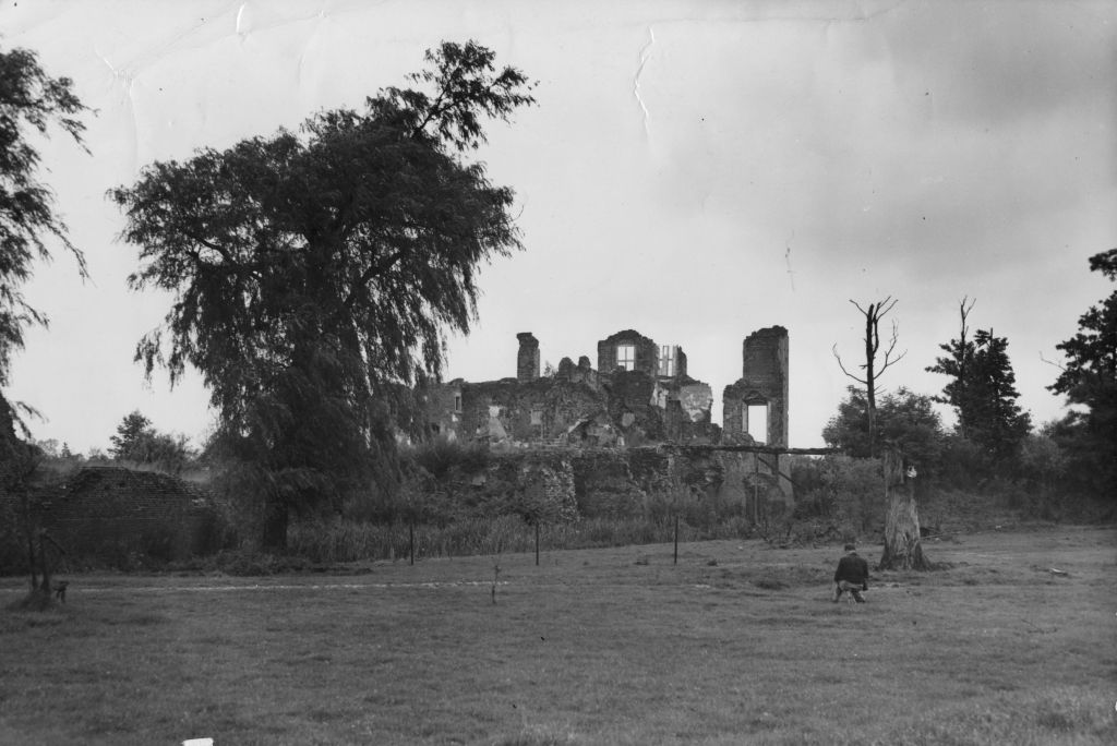 The ruins of Geijsteren castle