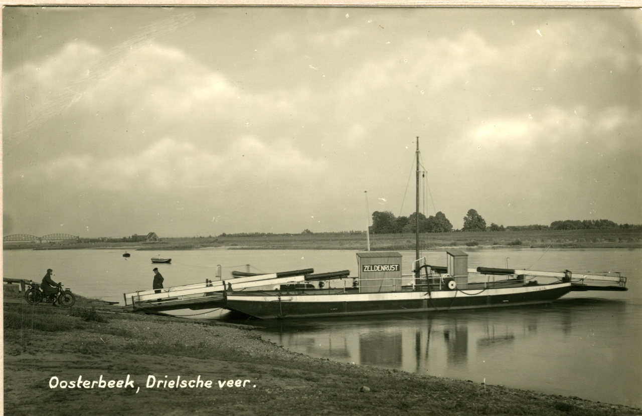The Driel ferry - disabled for the Germans and unusable for the Poles