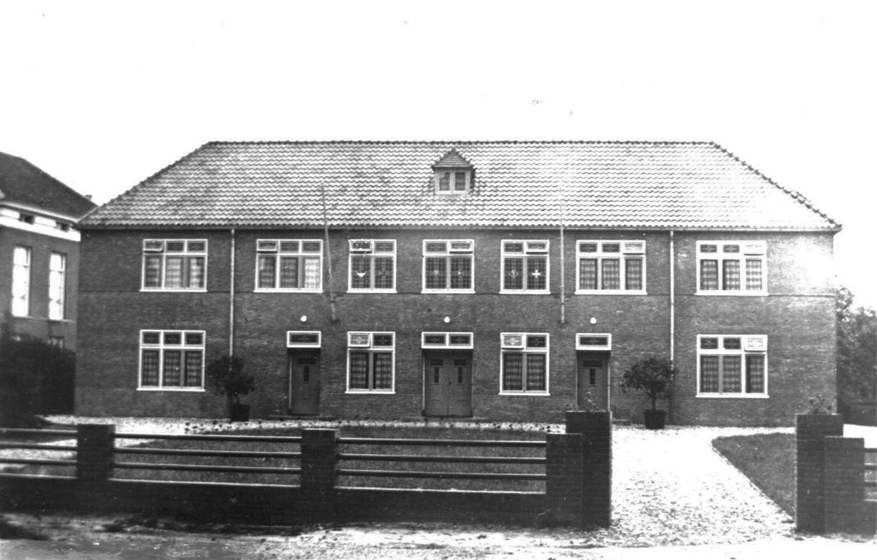 The Roman Catholic parish house set up as a medical post