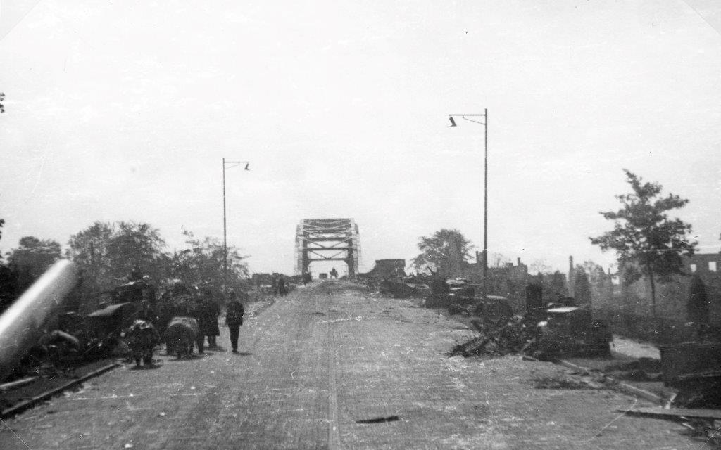 The road bridge at Arnhem