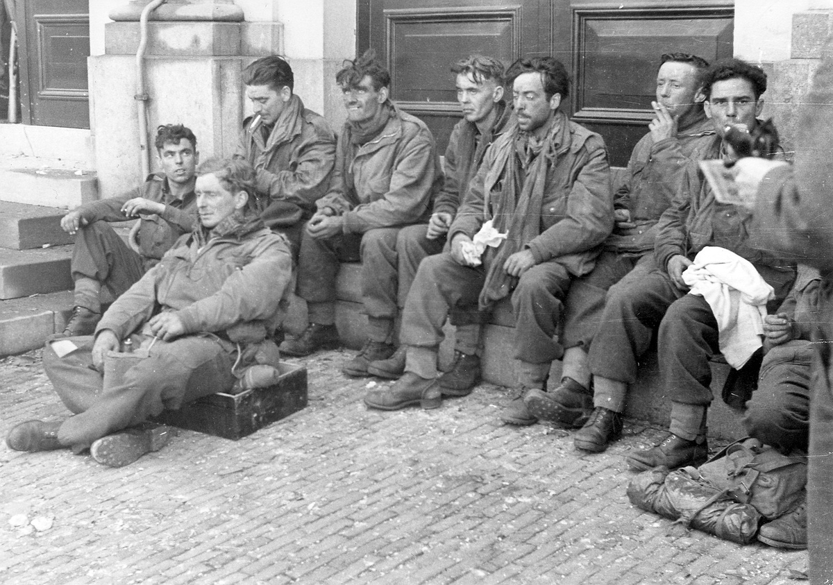 The end of C Company, 2nd Parachute Battalion